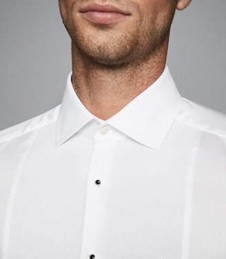 Reiss MARCEL SLIM FIT DINNER SHIRT White