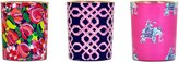 Lilly Pulitzer Votive Candle Set, Wild Confetti