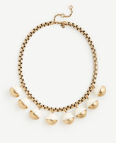 Ann Taylor Metallic Resin Bauble Necklace