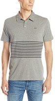 RVCA Men's Sure Thing Striped Shirt