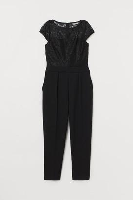 H&M Lace Jumpsuit - Black