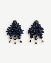 Ann Taylor Floral Fabric Statement Earrings