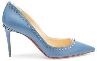 Christian Louboutin Anjalina Spiked Leather Pumps