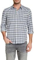 Lucky Brand Long Sleeve Twill Dobby Guaranteed Fit Shirt