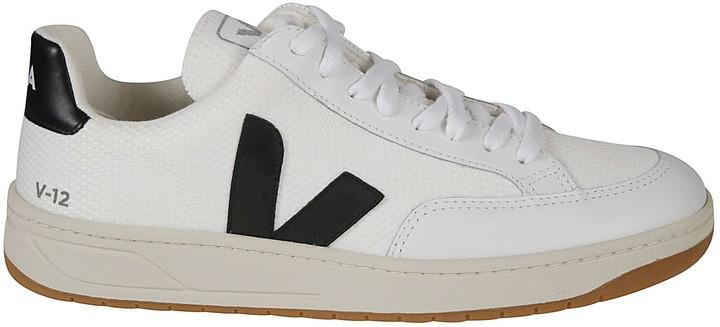 Veja Side V Logo Sneakers - ShopStyle