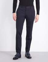 HUGO BOSS Regular-fit stretch-cotton trousers