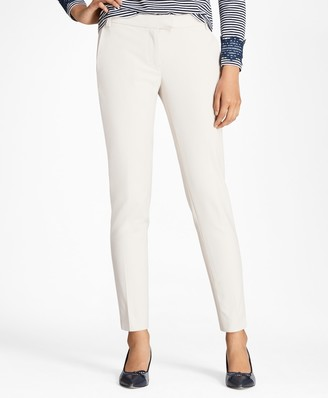 Brooks Brothers Slim-Fit Stretch Cotton-Blend Pants