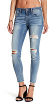 Vigoss Jagger Frayed Hem Destroyed Skinny Jean