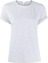 Brunello Cucinelli round-neck beaded T-shirt