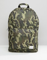 Spiral Backpack In Camo Print