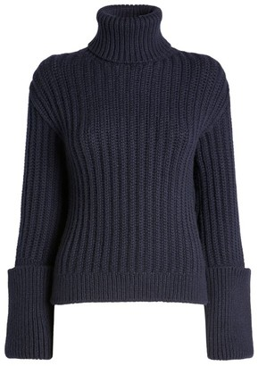 The Row Arline Rollneck Cashmere Sweater