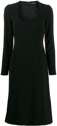 Dolce & Gabbana Scoop Neck Dress