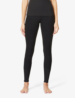 Alo Yoga Alosoft Lounge high-rise woven leggings