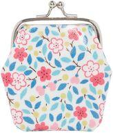 Cath Kidston Girls Mini Clasp Littlemore flower print purse