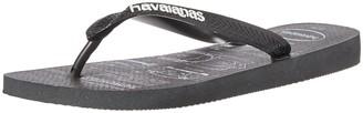 Havaianas Men's Batman Flip Flop Sandal New Graphite 13 M US