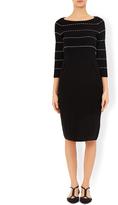 Monsoon Talia Stripe Knitted Dress