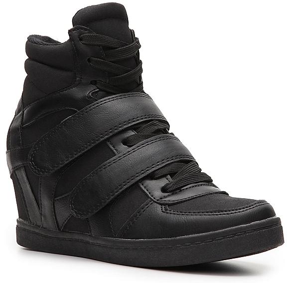 N.Y.L.A. Brander Wedge Sneaker