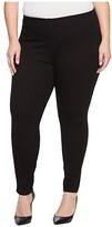 Lysse Plus Size Toothpick Denim (Black) Women's Jeans