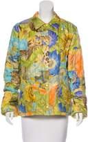 Salvatore Ferragamo Silk Quilted Jacket
