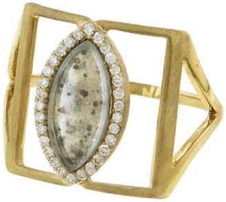 Darsana Yellow Gold Ring