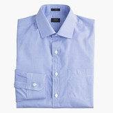 J.Crew Crosby shirt in blue microgingham