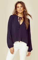 Blue Life tied & true blouse
