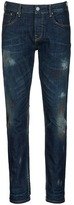 Scotch & Soda 'Lot 22 Ralston' paint spot slim fit jeans