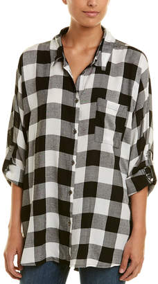 Etienne Marcel Gingham Button-Down Top