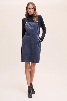 Chessie Corduroy Pinafore Dress