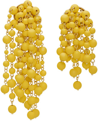 Jacquemus Yellow Les Mimosas Earrings