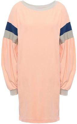 Current/Elliott Stolen Kiss Striped Cotton-jersey Mini Dress