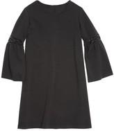 Aqua Girls' Bell Sleeve Dress