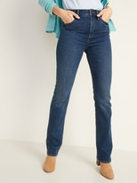 Old Navy High-Waisted Kicker Boot-Cut Jeans For Women