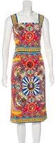 Dolce & Gabbana Spring 2016 Silk Dress w/ Tags