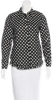Kate Spade Polka Dot Button-Up Top w/ Tags
