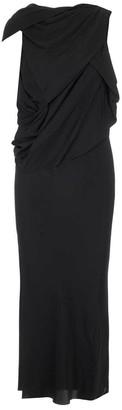 Rick Owens Draped Sleeveless Dress
