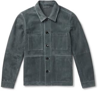 Mr P. Suede Utility Jacket