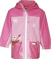 Playshoes Baby Girl's Rain Coat with Fleece Lining