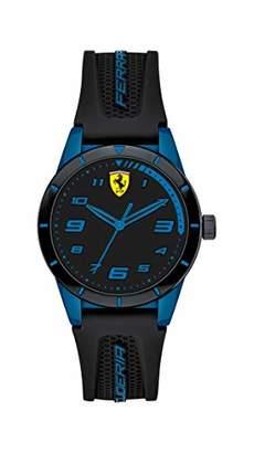 Ferrari 860007 Boy's RedRev Quartz TR90 and Silicone Strap Casual Watch