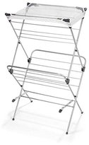 Polder 2-Tier Freestanding Clothes Drying Rack with Mesh Garment Dryer