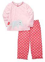 Carter's Elephant 2-pc. Pajamas - Girls 12m-24m