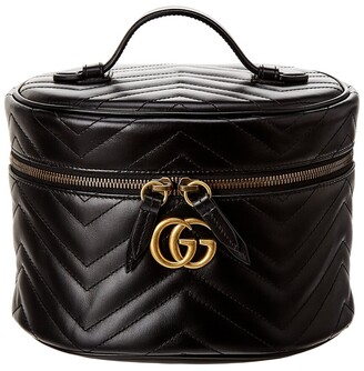 Gucci Gg Marmont Small Leather Cosmetic Case