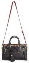 Loewe 'Amazona Multiplication' Bicolor Leather Satchel - Black