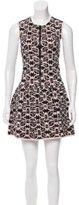 Maje Printed Mini Dress w/ Tags