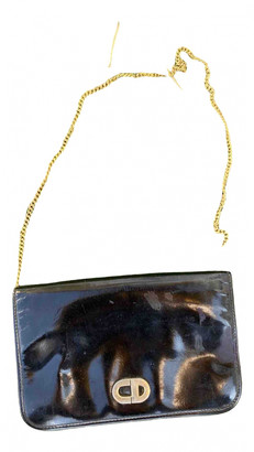 Christian Dior Black Patent leather Clutch bags