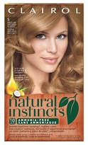 Clairol Natural Instincts Hair Color - 8/5 Medium Natural Blonde - 1 kit