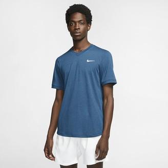 Nike Men's Short-Sleeve Tennis Top NikeCourt Dri-FIT Challenger