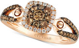 LeVian Le Vian Chocolatier® Diamond Ring (5/8 ct. t.w.) in 14k Rose Gold