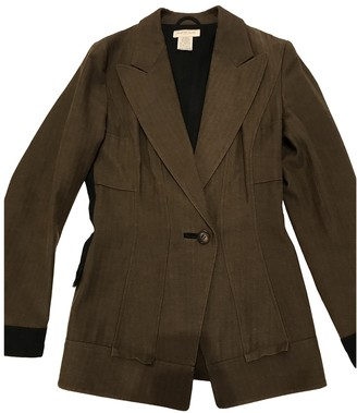 Dries Van Noten Brown Wool Jackets