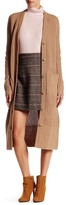 Canvas by Lands' End Canvas by Lands& End Long Wool Blend Cardigan Sweater
